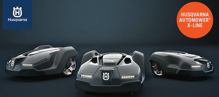 Husqvarna automower robotgräsklippare