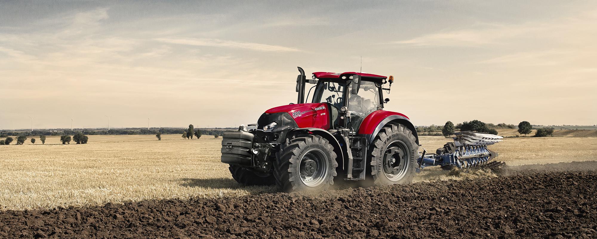 Jordbearbetning- och traktordemo
