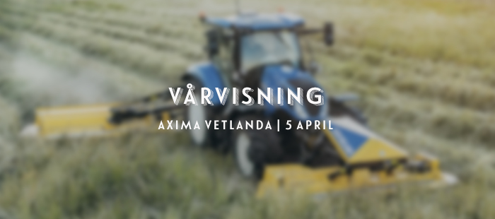 Vårvisning Axima Vetlanda 2020