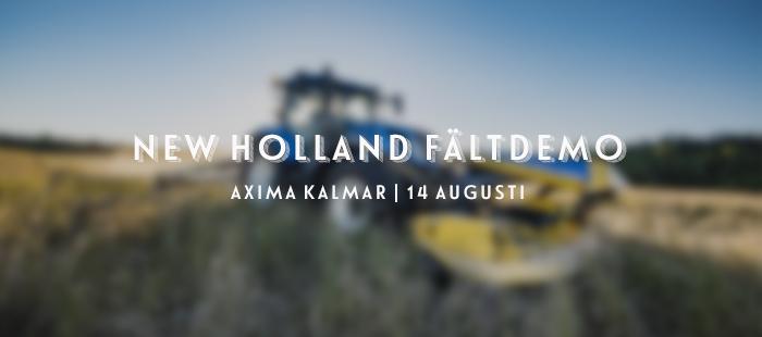 New Holland fältdemo Kalmar 2019