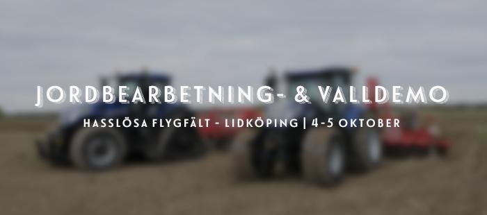 Jordbearbetning -& valldemo Hasslösa 2019