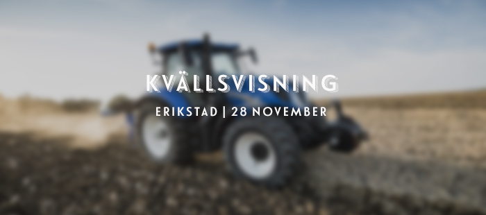Kvällsvisning Erikstad 2019