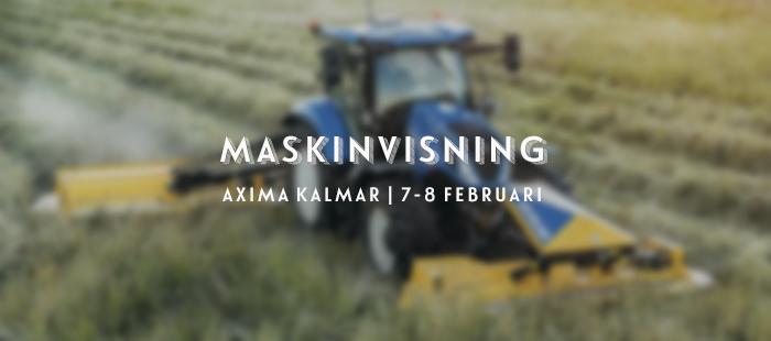 Maskinvisning Axima Kalmar 2020