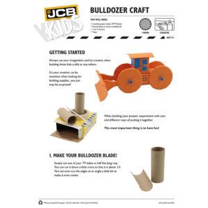 Bygg din bulldozer, barnaktiviter