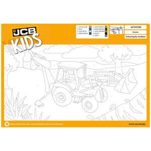 Måla med JCB, Barnaktiviteter