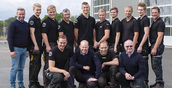 Gruppbild anställda på Kalmar och Öland