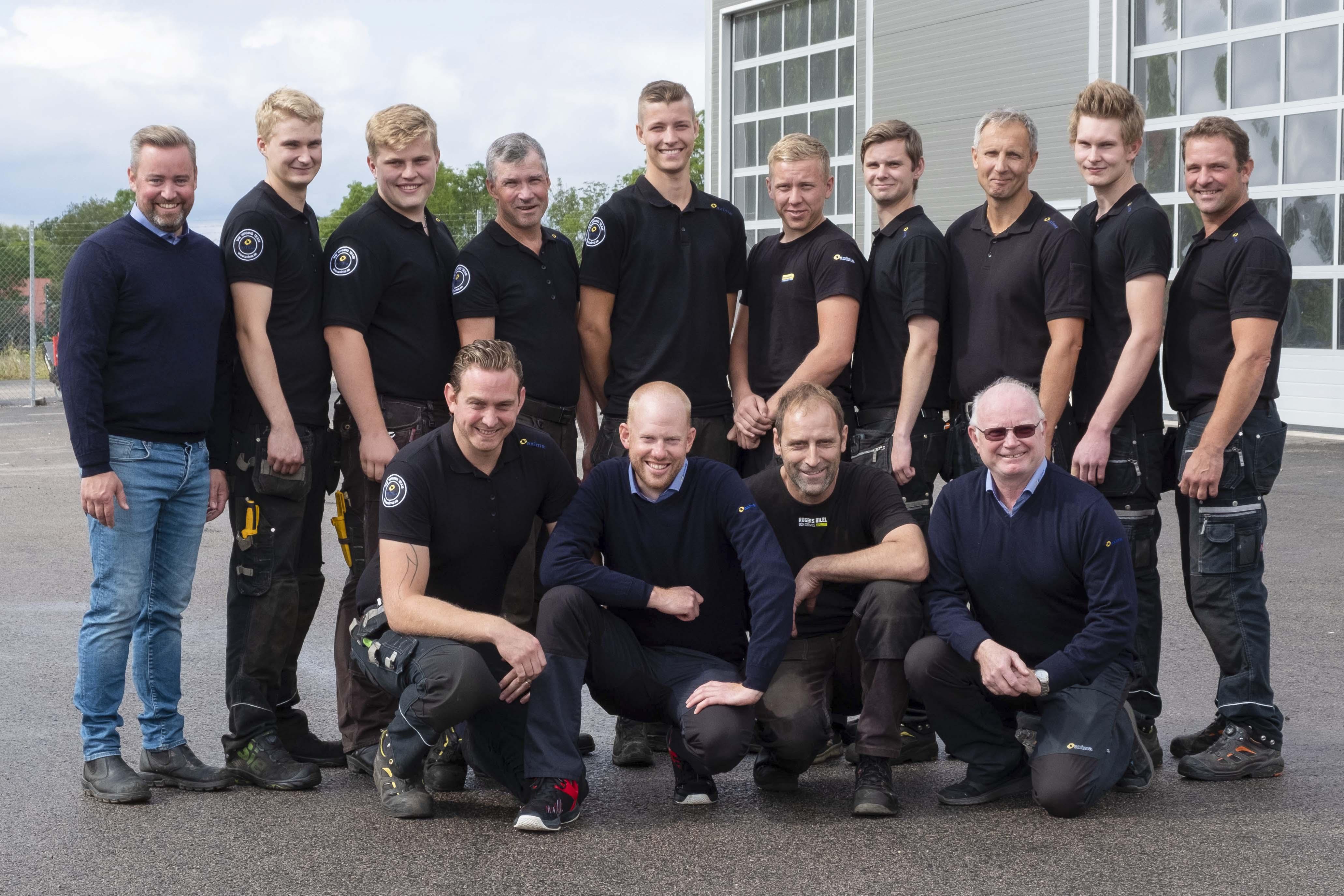 Gruppbild anställda i Kalmar och Öland